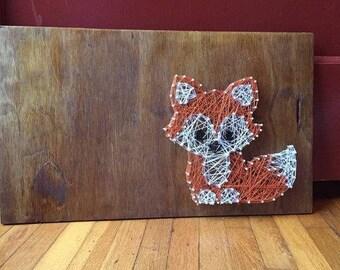 Baby Fox String Art