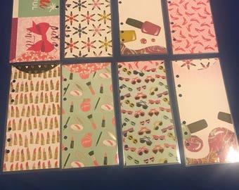 8 Cash envelopes