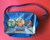 Vintage 1980s 1986 Masters of the Universe HEMAN Skeleton School shoulder Bag satchel rare 80s kids MOTU tv 30th birthday stag do theme