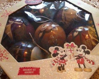 Disney Tim Burton's The Nightmare Before Christmas Ornaments - 9 Ornaments