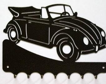 Hangs 26 cm pattern metal keys: VW convertible beetle