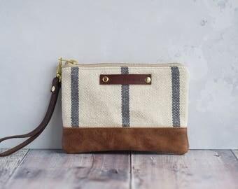 wristlet, leather wristlet, wristlet wallet, wristlet strap, clutch bag, clutch, leather clutch, clutch purse, woven bag, boho bag