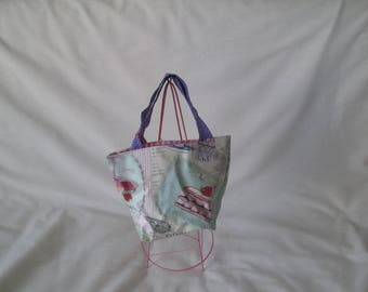 Bag child pastry in oilcloth