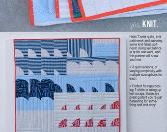 Tee: The Knit Quilt Primer Pattern Designed by Carolyn Friedlander