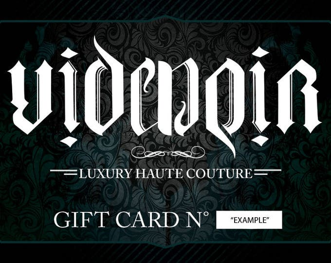 Christmas Gift Voucer - Gift Card - multiple prices