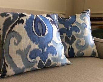 Luxury Italian  pillow case - decorative pillow - luxury pillow - designer pillow- FREE shipping