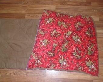 Vintage sleeping bag. Sleeping Bag. 1960's sleeping bag. Warm Sleeping bag.