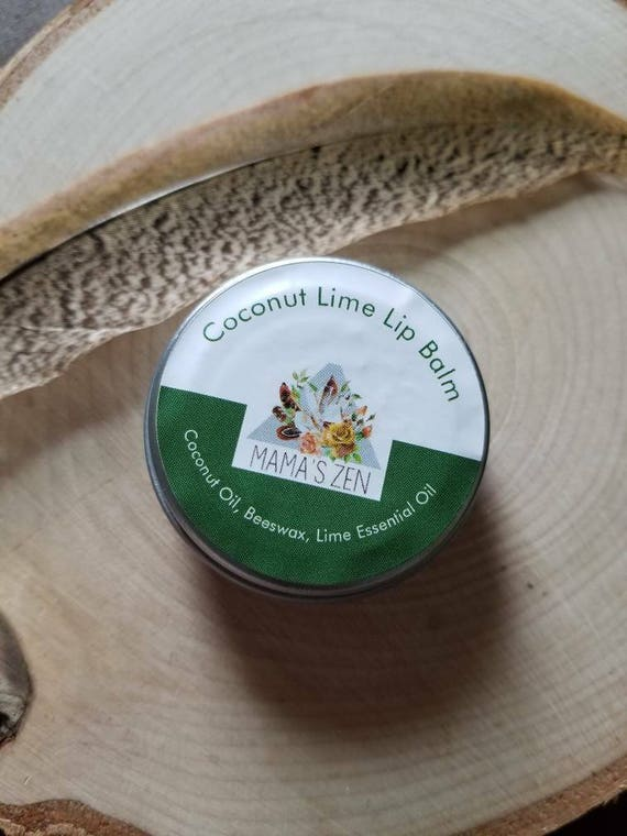 Coconut Lime Lip Balm