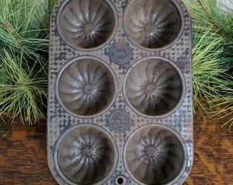 Vintage Ovenex 6 Muffin Cup Pan