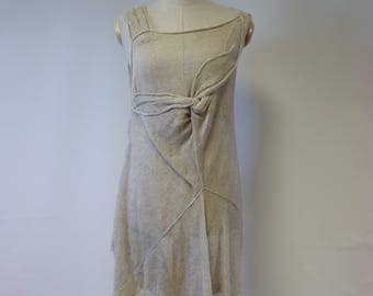Special price. Delicate transparent natural linen tunic, M size. Made of pure linen, perfect for Summer.