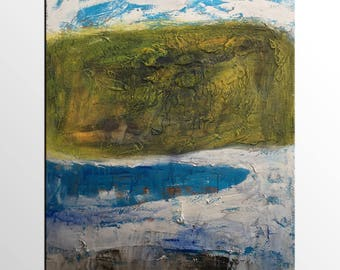 Abstract Landscape Art, Large Painting, Abstract Art, Abstract Painting, Original Oil Painting, Canvas Art, Impasto Art, Wall Art, Large Art
