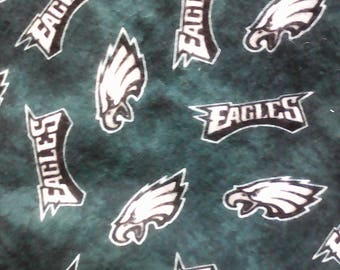 Philadelphia Eagles Double Sided Flannel Baby Blanket