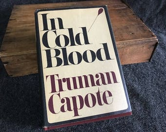In Cold Blood, Truman Capote first edition third printing