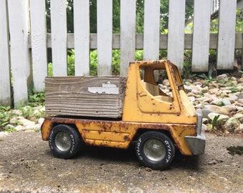 Vintage Nylant truck, vintage planter