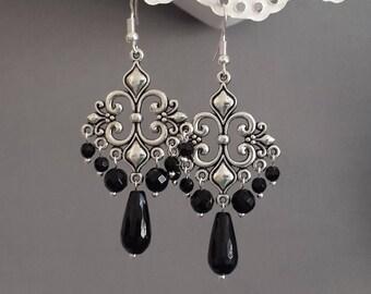 Gothic earrings | Etsy