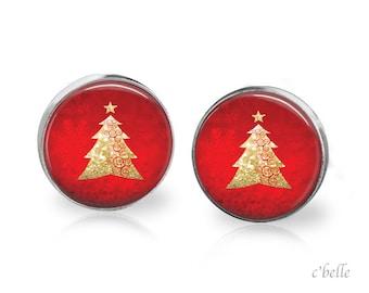 Christmas Earrings Winter-4