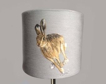 Running Hare Lampshade
