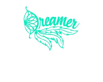 Dreamer Decal | Dreamcatcher Decal | YETI | Car Decal | Window Decal | Phone Decal | Cup Decal