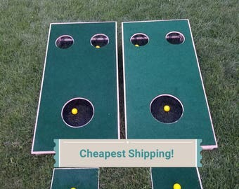 Golfhole- Cornhole and Golf Combined