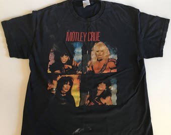 Vintage Mötley Crüe T-Shirt large