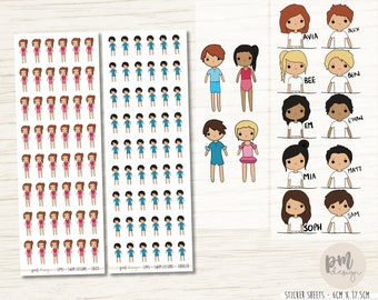 Swim Lessons (Child/Toddler) - Little People Planner Stickers - LP45