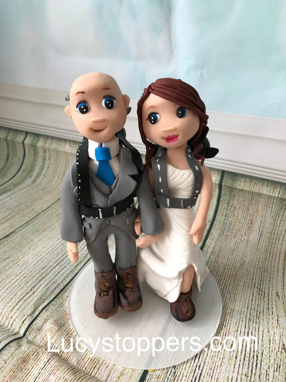 Wedding cake Topper hiking/walking/mountaineering - Fully Personalised a lovely keepsake - Bride and Groom/Same Sex/Wedding couple