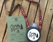 Custom Happy Little Camper Sticker
