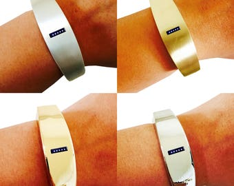 Fitbit Flex Bracelet- As seen in GLAMOUR - The TORY INSIGHT Fitbit Bracelet - Easily see and track your progress!