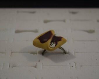 """Ring """"chocolate banana pancake"""""""