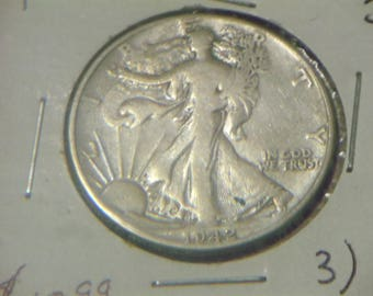 1942 P Walking Liberty Half Silver Dollar (FG71)