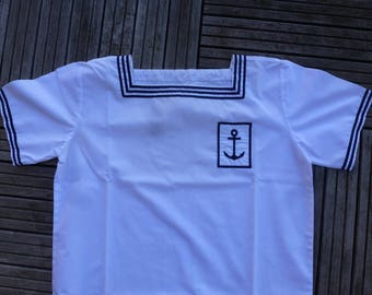 old colonial Navy shirt