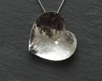 Sterling Silver Heart Pendant including Chain