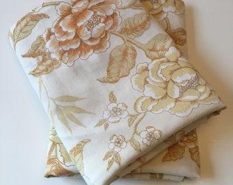 Vintage King Size Dan River Pillow Cases-No Iron Muslin-USA