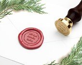 Personal Wax Seal Stamp, Personalized Seal, Custom Wax Seal Stamp, Free Sealing Wax, Wreath Wax Seal, Wedding Seal, Personal Seal, Branding