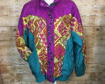 Lavon vintage windbreaker jacket 80's 90's