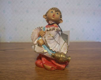 Fontanini Choir Boy with Incense Burner Figurine, Italy 1987