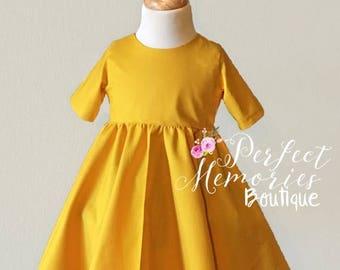 SALE Classic Dress | Girls Fall Dress | Breakfast at Tiffany's | Audrey Hepburn |Classic Fall Dress | Toddler Fall Dress | Little Black Dres