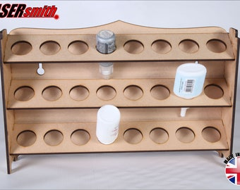 Ink & Glue Storage Rack - ideal for craft, stickles, pinflair, appli