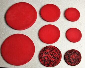 Beads flat pack various diameters