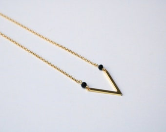 Necklace Golden EMY [silver plated]