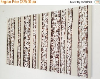 Independence Sale Birch Art, Birch Tree Painting, Large Wall Art, Tree Painting, Birch Wall Art, Original Painting, Aspen Tree Painting, Mas