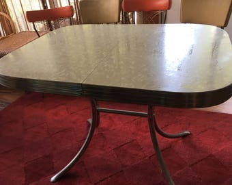 Kitchen Formica Mid Century Modern Table