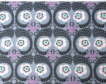 Closing Sale French Twist in Zinc - Violette by Amy Butler for Freespirit/Westminster Fabrics 1/2 yard