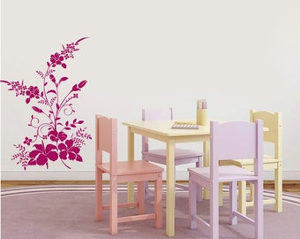 Flowers V2, Wall Sticker, Interior Sticker,  Window Sticker, Car Sticker, Wall Decal, Wall Decor
