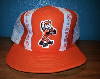 ETP Miners Vintage Snap Back Trucker Hat New