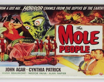 The Mole People Movie Poster FRIDGE MAGNET Monster Film 1950's Sci Fi