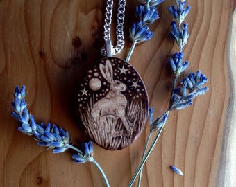 Birchwood Hare Pendant