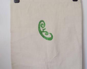Handmade tote bag,Shadowhunters inspired, speak in tongues Rune