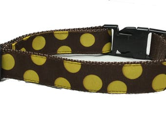 Dog Collar, Circles Dots