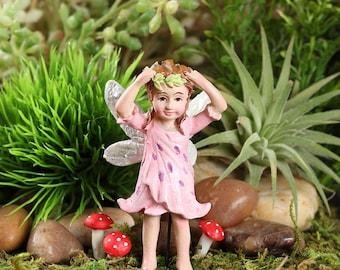Fairy Garden  - Tiger Lily Fairy - Anastasia - Miniature